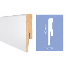 Плинтус Arbiton DIAMOND Белый (GP0601) 60 мм