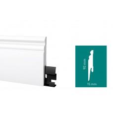 Плинтус Arbiton DORA Белый (D0910) 90 мм