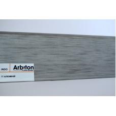 Плинтус Arbiton INDO Алюминий (17-indo) 70 мм