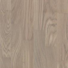 Паркетная доска Wood Floor Дуб Карамель лак белый браш арт. k-100192
